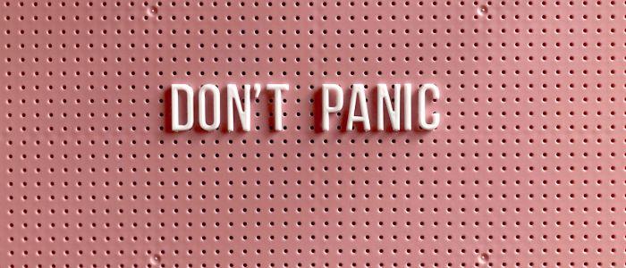 ne legyen pánik a korona vírus válság miatt
